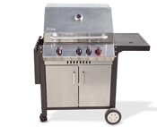 Enders Gasgrill Kansas Black Pro 3 K Turbo : Aldi gasgrill 2016 test enders monroe 3k turbo silverline